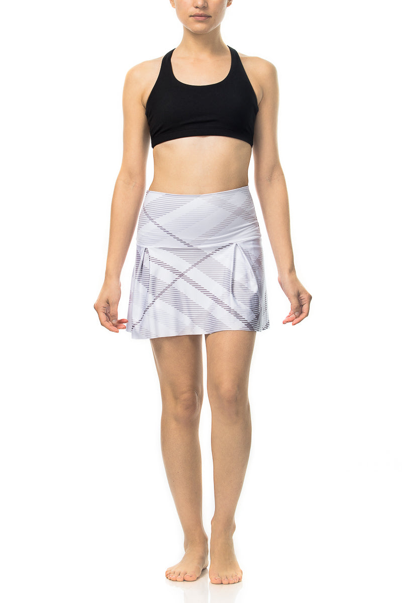 Plaid Pop Tennis Skirt