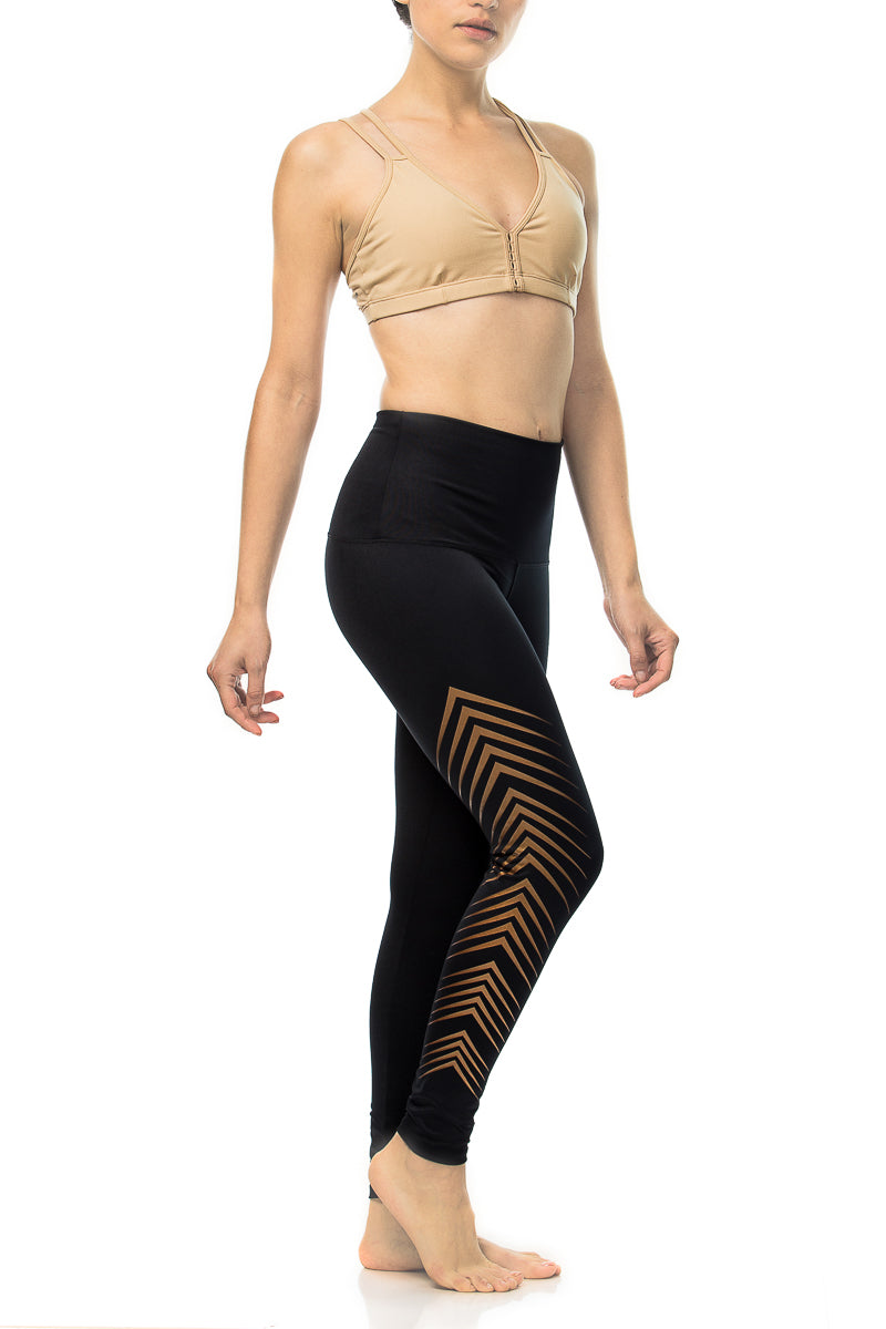 Regal Bronze Yoga Pants