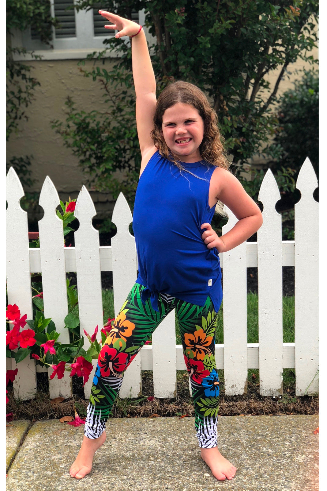 Island Girl Legging for Kids