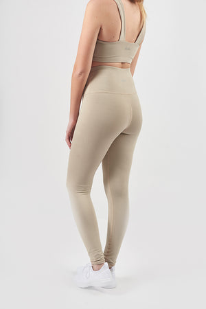 Beige High Waisted Legging