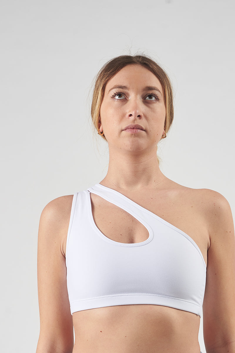 Nike One Shoulder Sports Bra