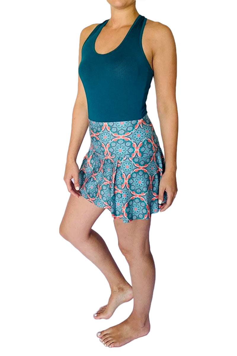 Mandala Tennis Skirt