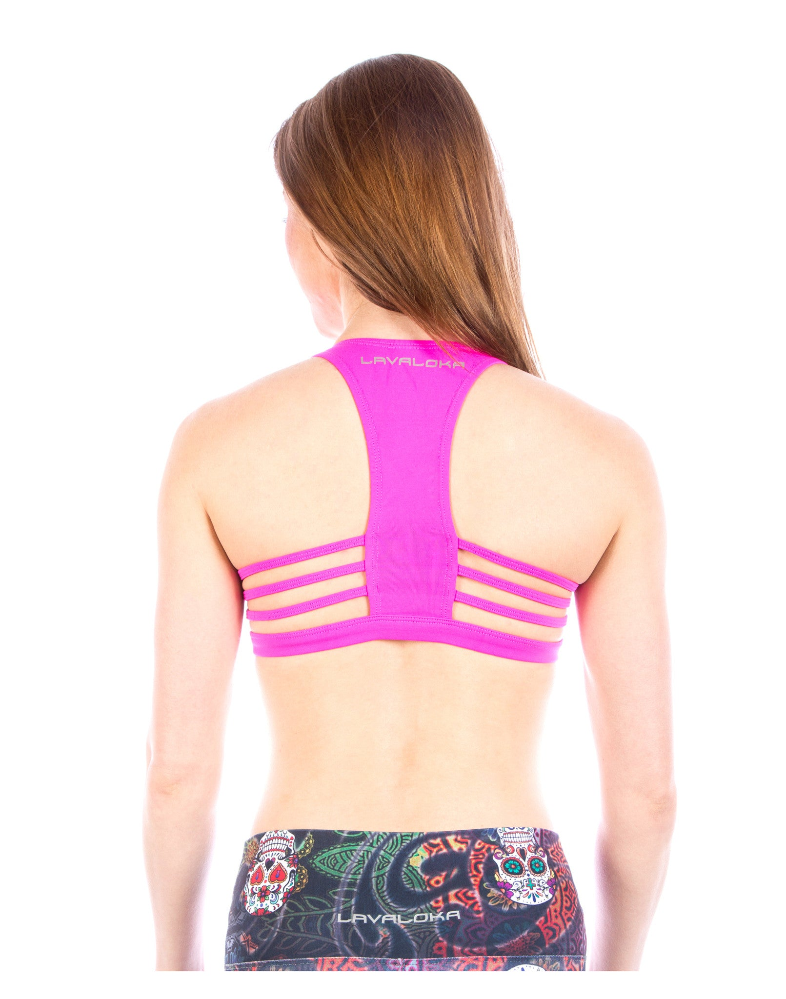 Maria Sports Bra - Sports Bra Collection LavaLoka - Pink - buy now in every color