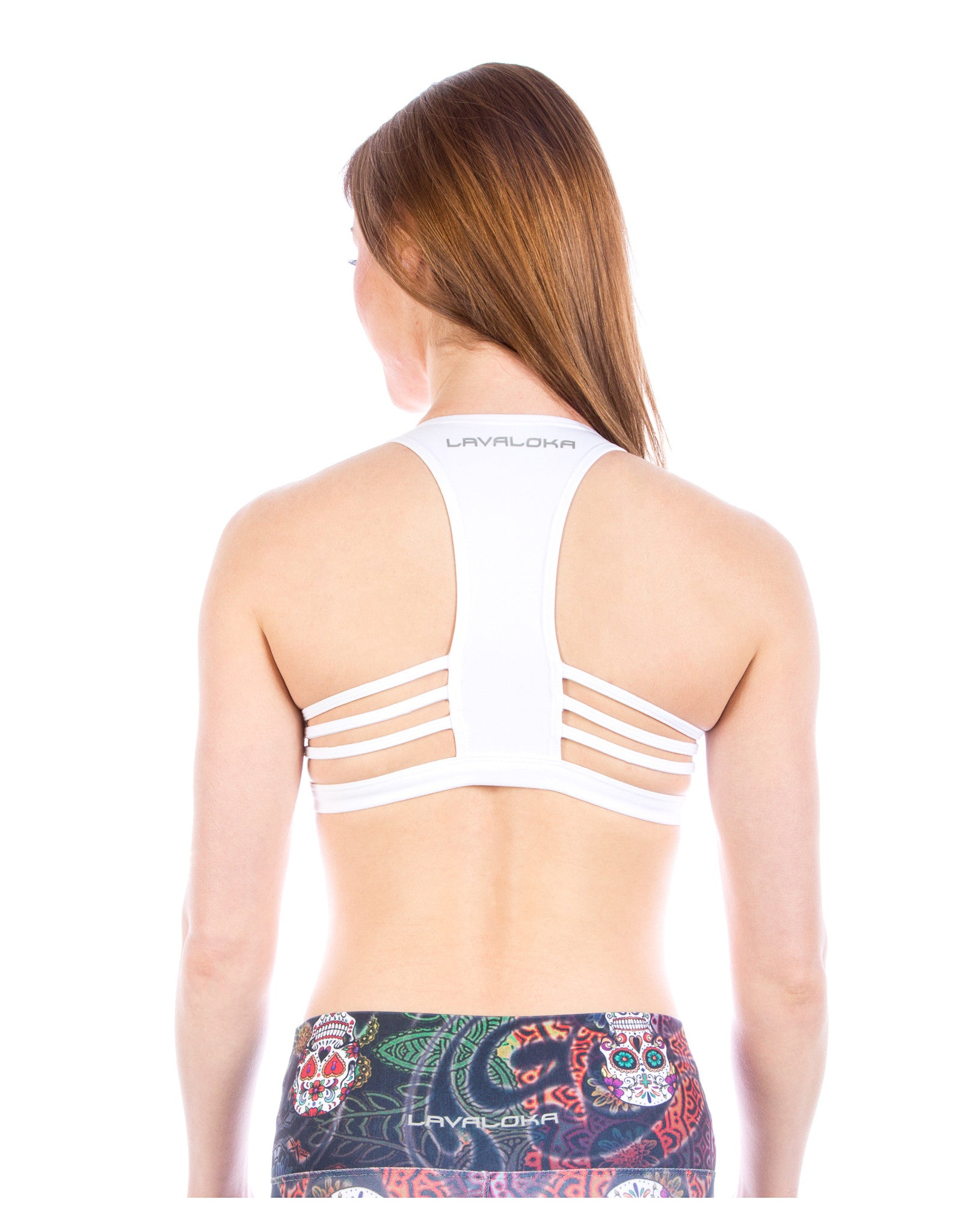 Maria Sports Bra - Sports Bra Collection LavaLoka - White - buy now in every color