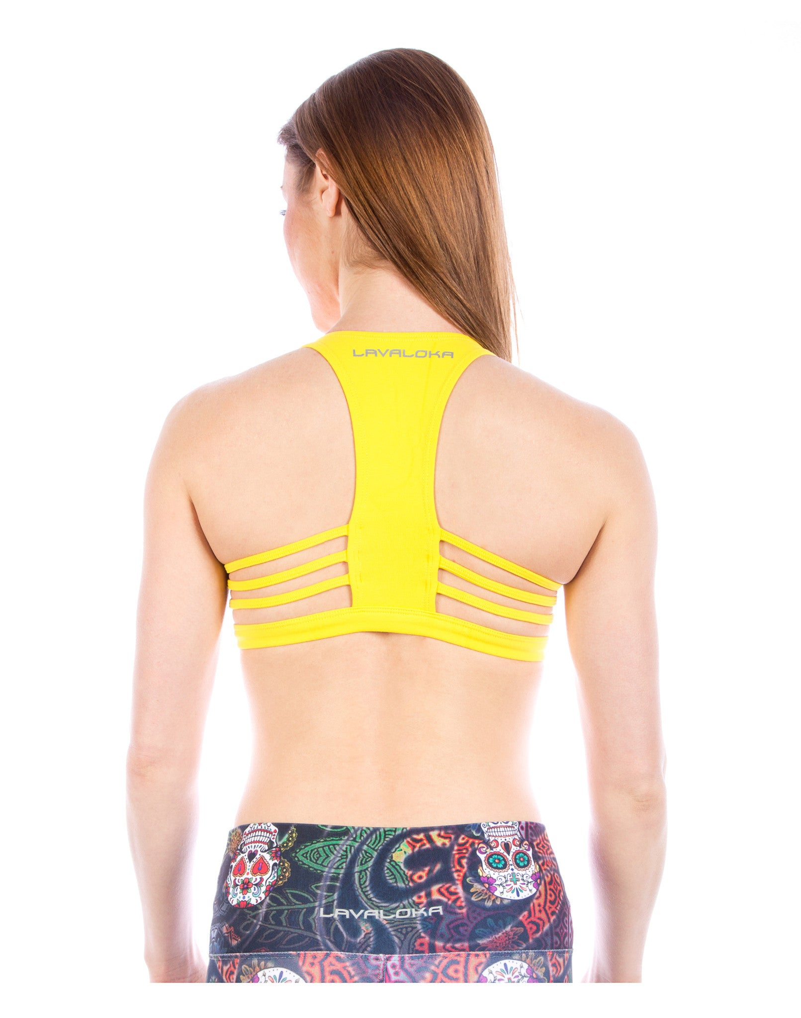 Maria Sports Bra - Sports Bra Collection LavaLoka - Yellow - buy now in every color