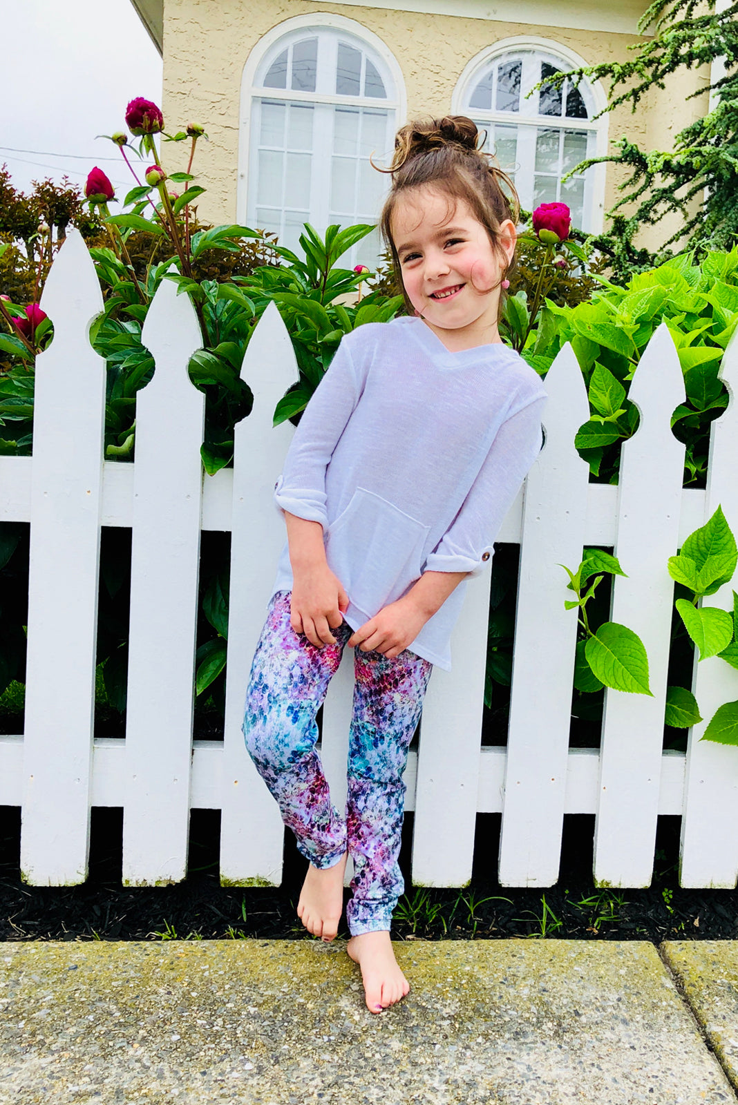 Mermaid Mama Legging for Kids