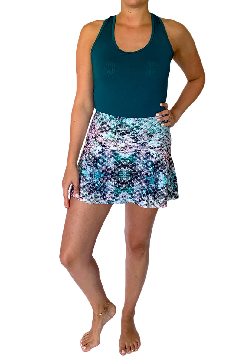 Mermaid Mama Tennis Skirt