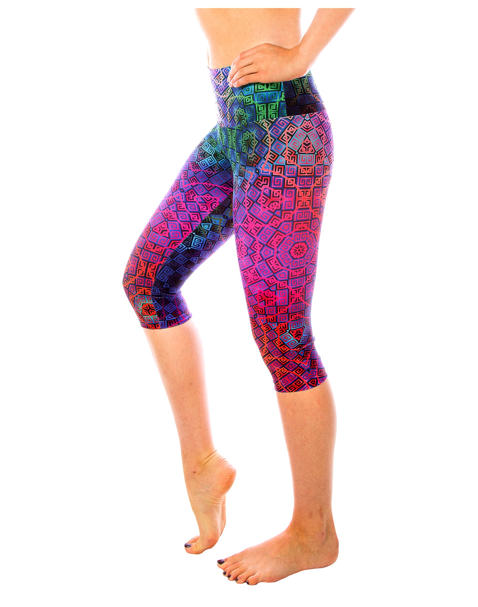 Mind Game Capri Yoga Pants