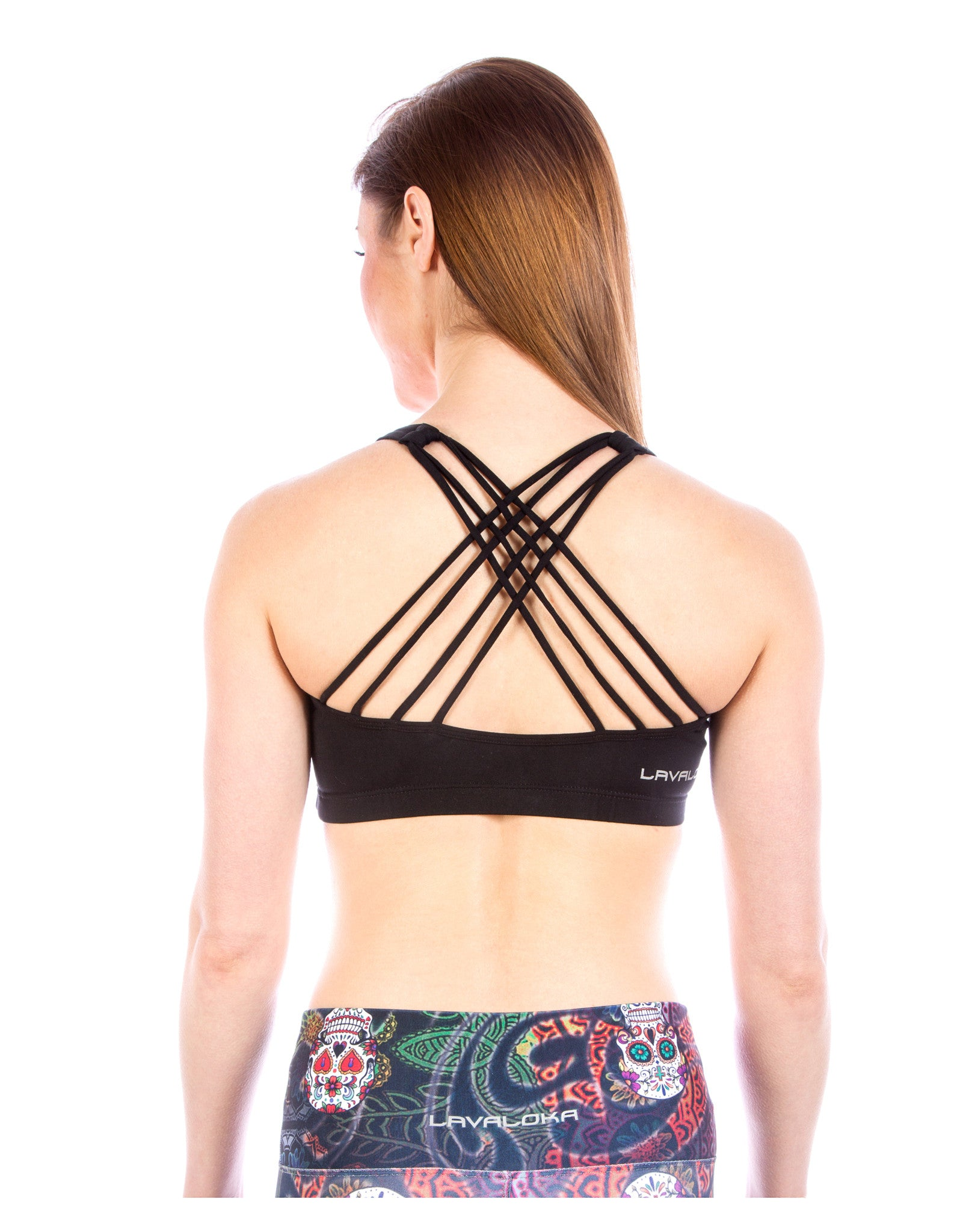 Sports Bra - Samantha Sports Bra LavaLoka - Black - buy it in every color