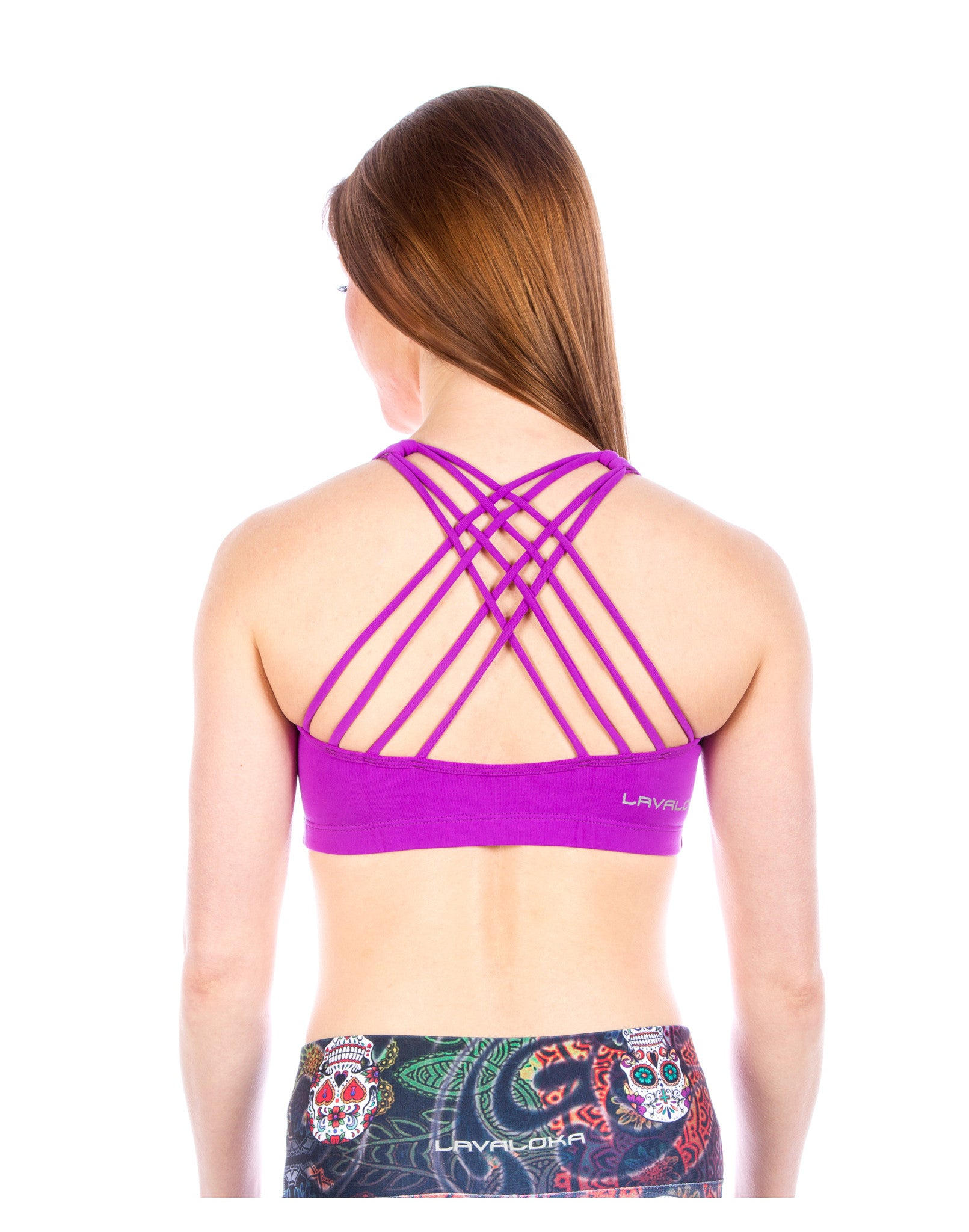 Sports Bra - Samantha Sports Bra LavaLoka - Purple - buy it in every color