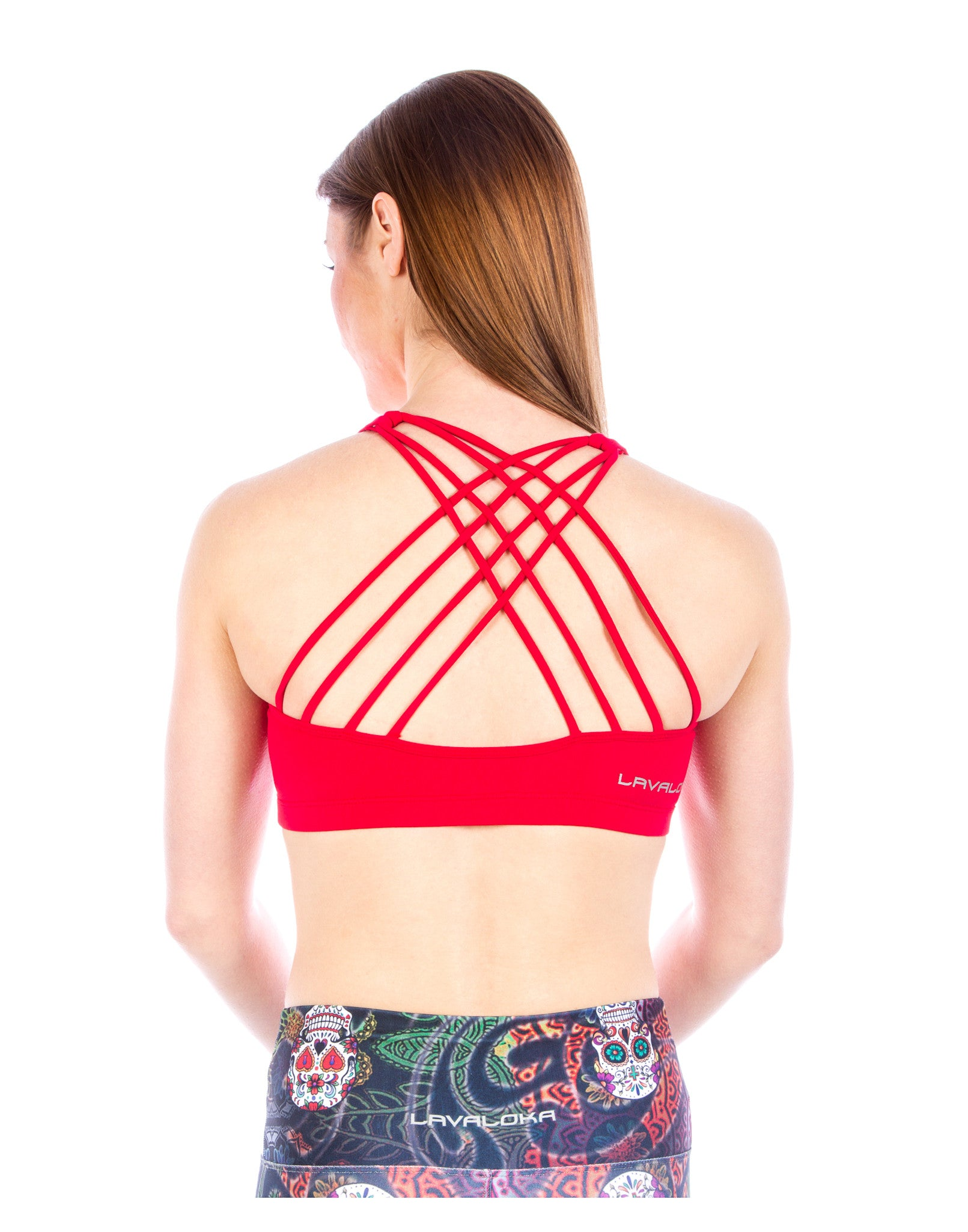 Sports Bra - Samantha Sports Bra LavaLoka - Red - buy it in every color