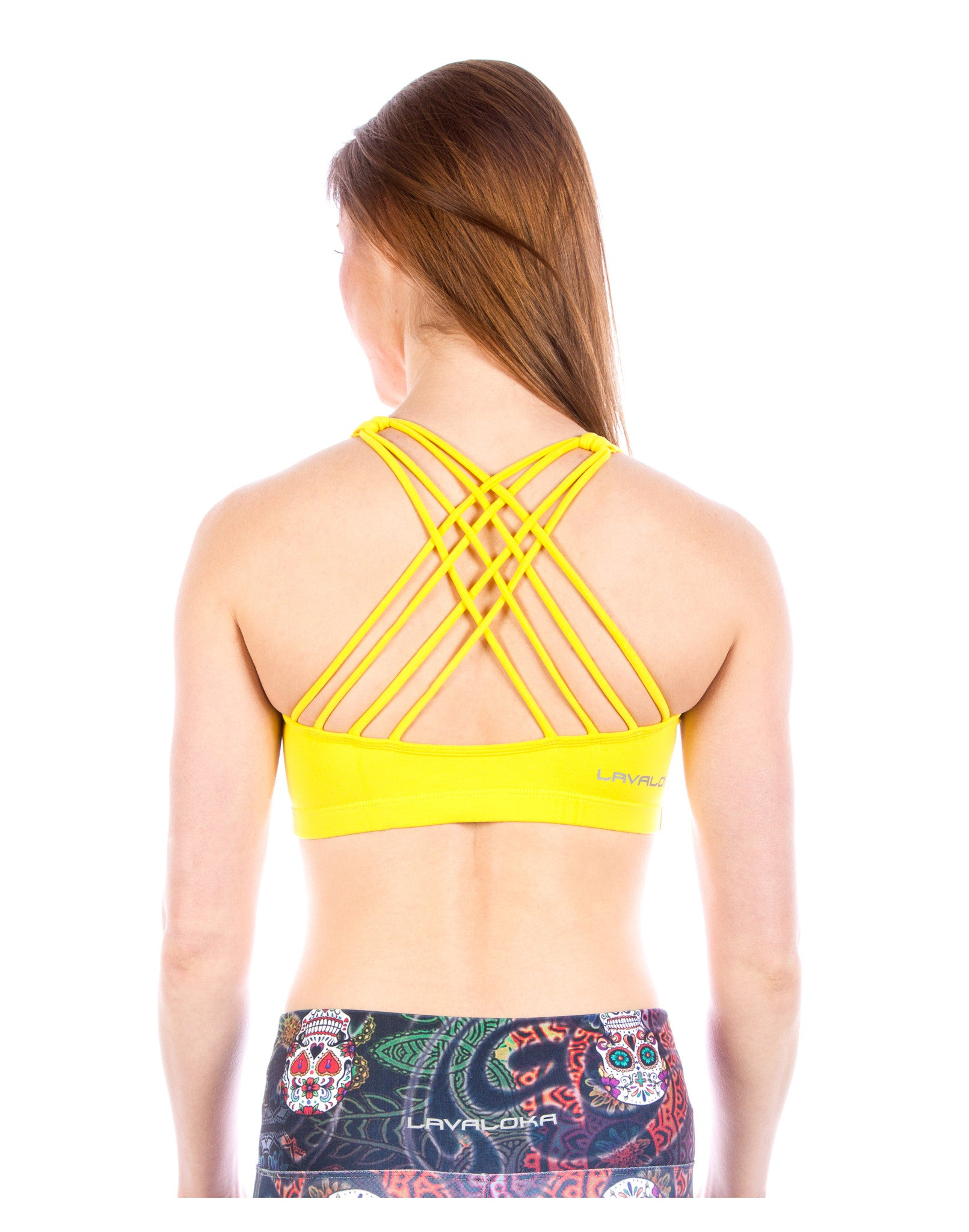 Sports Bra - Samantha Sports Bra LavaLoka - Yellow - buy it in every color