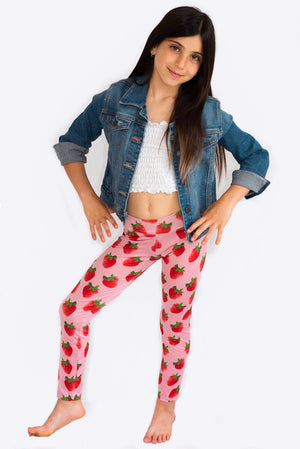 Strawberry Legging for Kids
