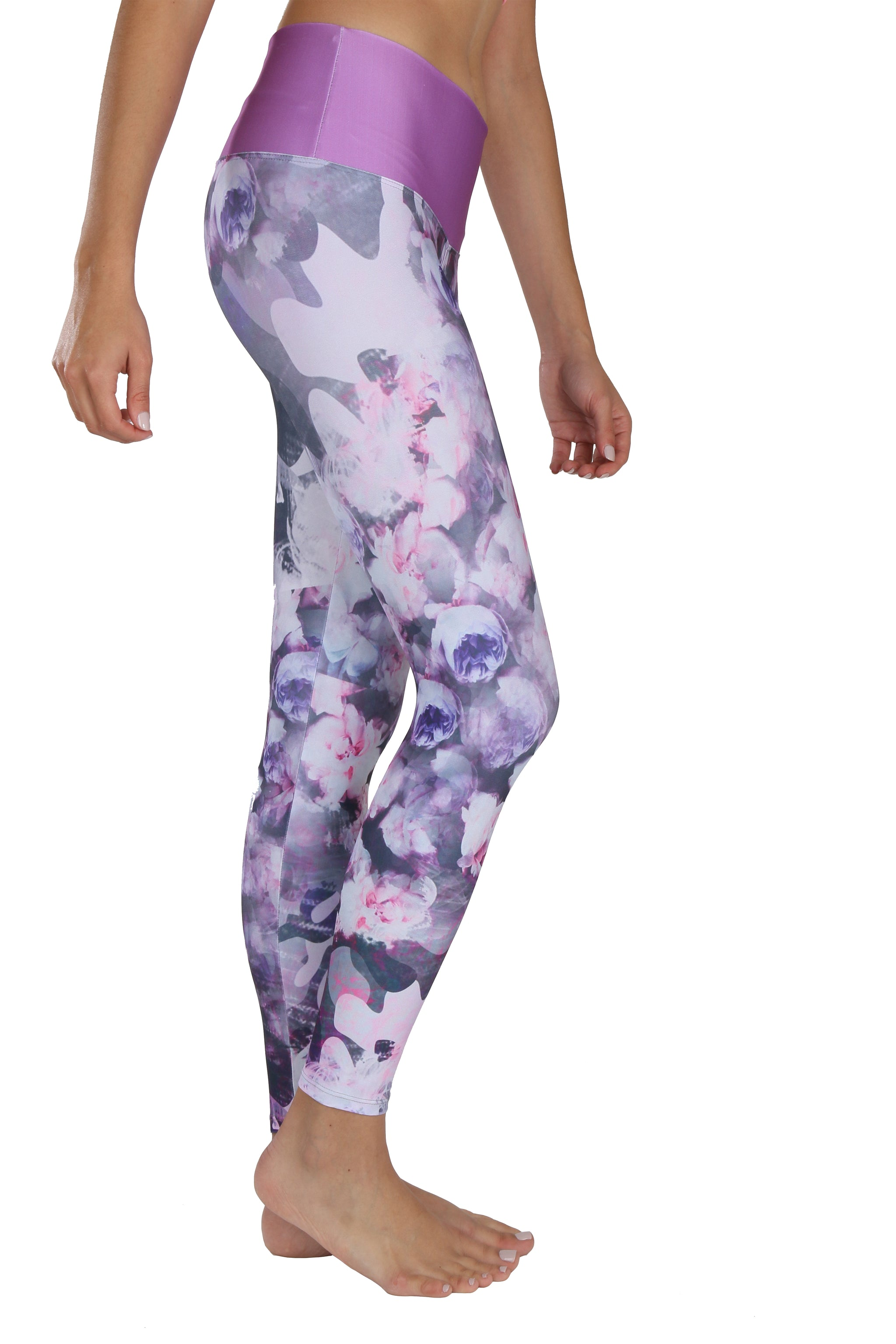 Camo Rose Yoga Pants