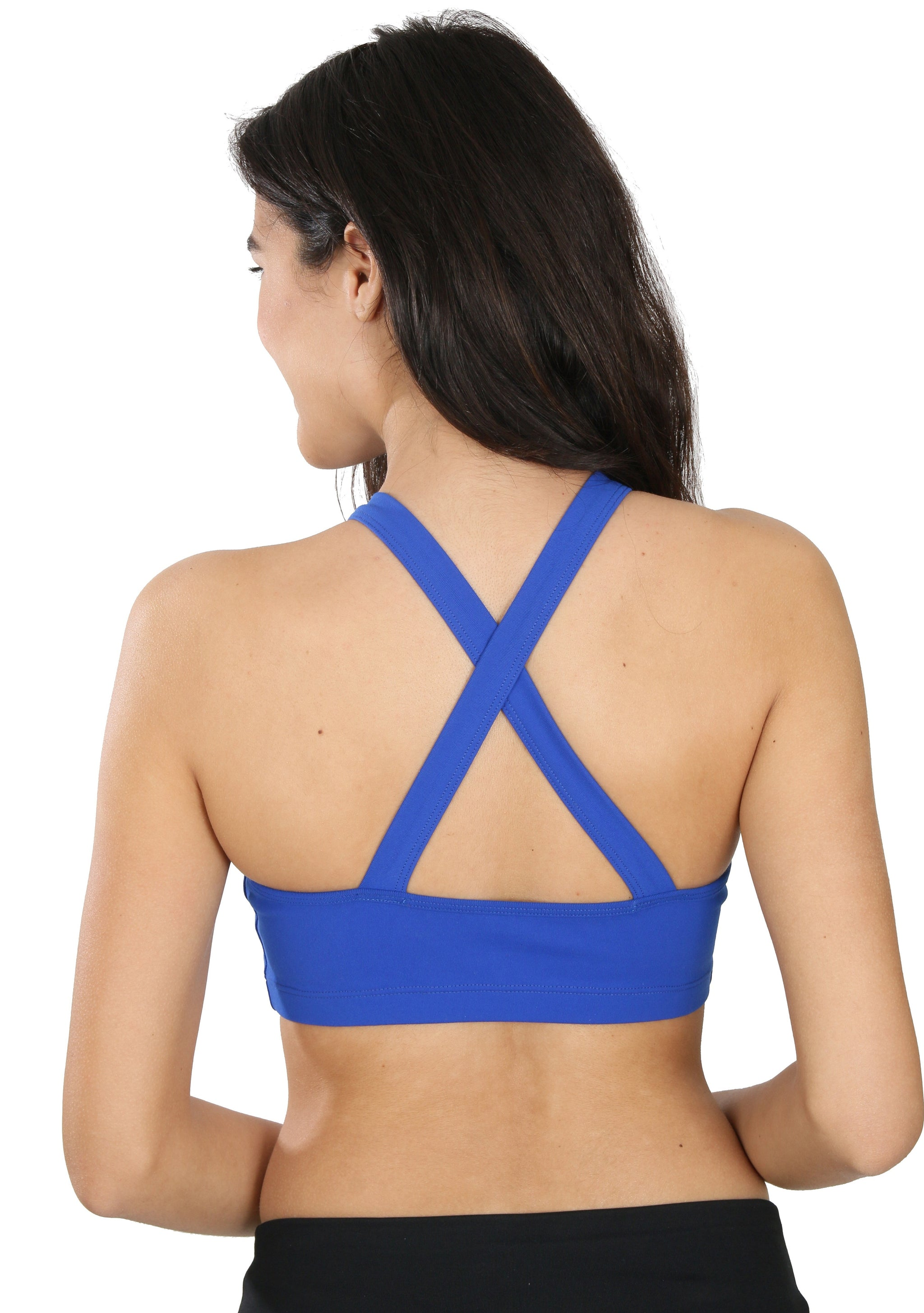 Yoga Sports bra | Comfy & beautiful fitness bras | Blue Lavaloka