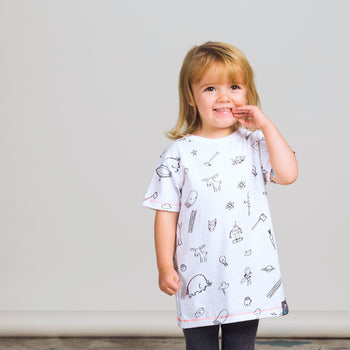 Patterned T-shirt: Kids - Oliver Jeffers Stuff