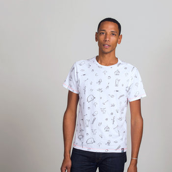 Patterned T-Shirt: Adult - Oliver Jeffers Stuff