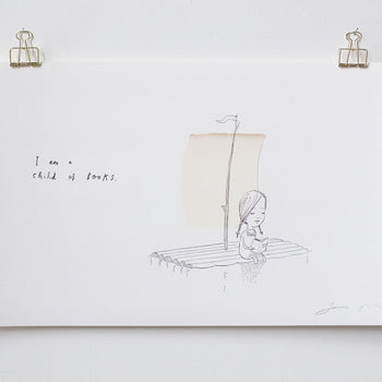 'A Child of Books' Print - Oliver Jeffers Stuff