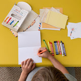Bring the Crayons Home (The Crayons Writing Kit)