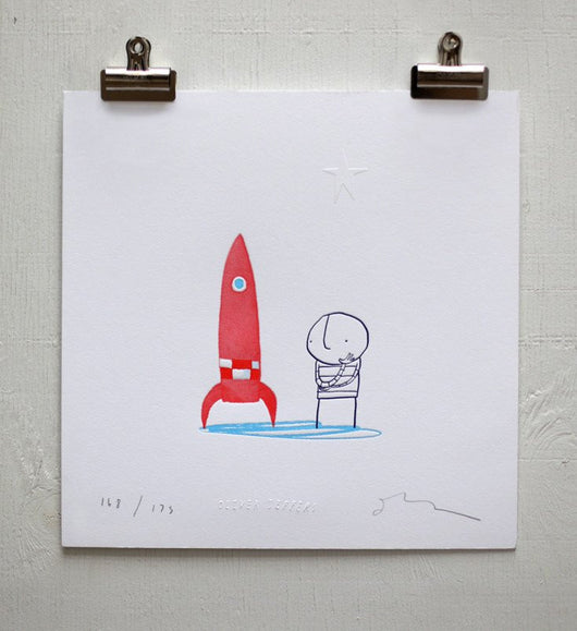 How to Catch a Star 10th Anniversary Print - Oliver Jeffers Stuff