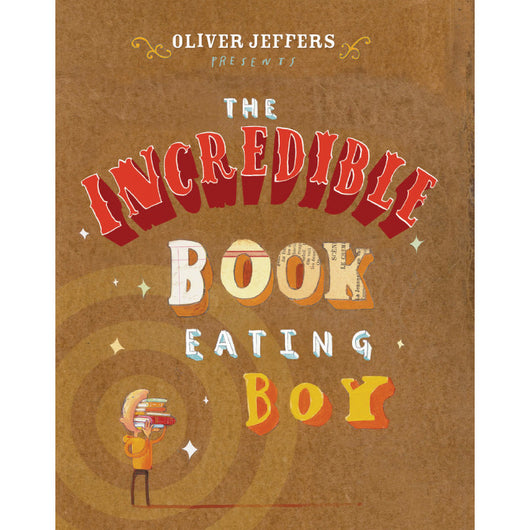 The Incredible Book Eating Boy - Oliver Jeffers Stuff