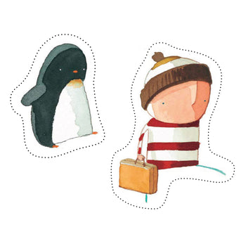 Make Boy & Penguin Puppets - Oliver Jeffers Stuff
