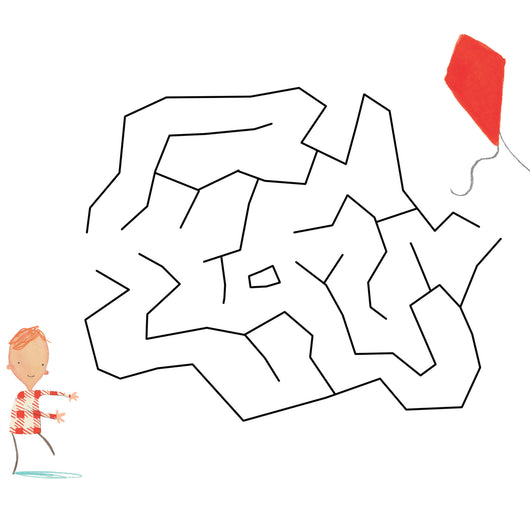 Maze: Stuck - Oliver Jeffers Stuff