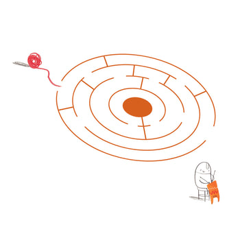 Maze: The Hueys - Oliver Jeffers Stuff