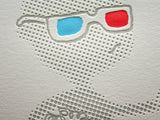 3D Boy Letterpress Print - Oliver Jeffers Stuff