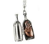 Heart in a Bottle Necklace - Oliver Jeffers Stuff