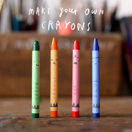 Make Your Own Crayons - Oliver Jeffers Stuff