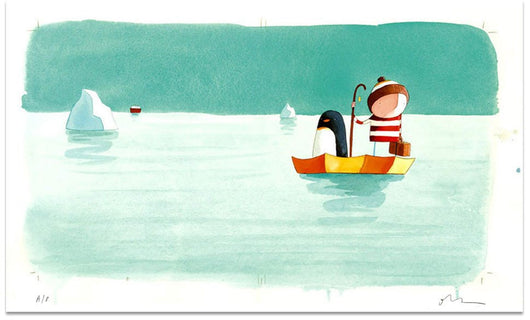 Cover From 'Lost And Found' - Oliver Jeffers Stuff