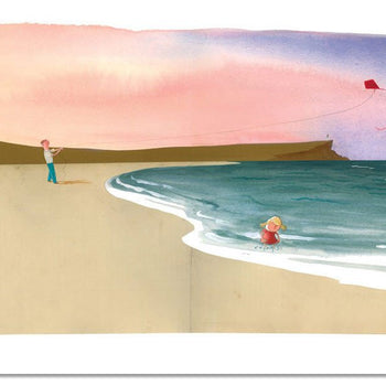Page 10/11 From 'The Heart And The Bottle' - Oliver Jeffers Stuff