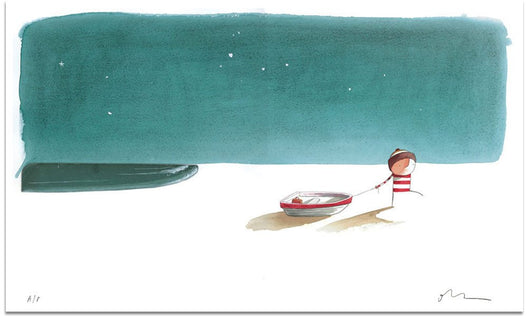Page 4-5 From 'The Way Back Home' - Oliver Jeffers Stuff