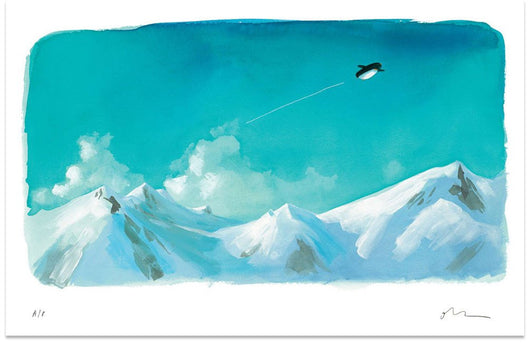 Page 8/9 From 'Up & Down' - Oliver Jeffers Stuff