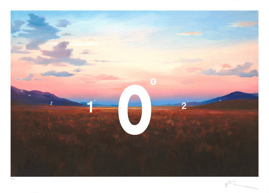 'Protracted Landscape No. 7' Print - Oliver Jeffers Stuff