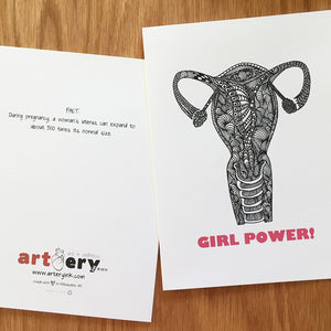Uterus / Girl Power! - Any Occasion (#8107)
