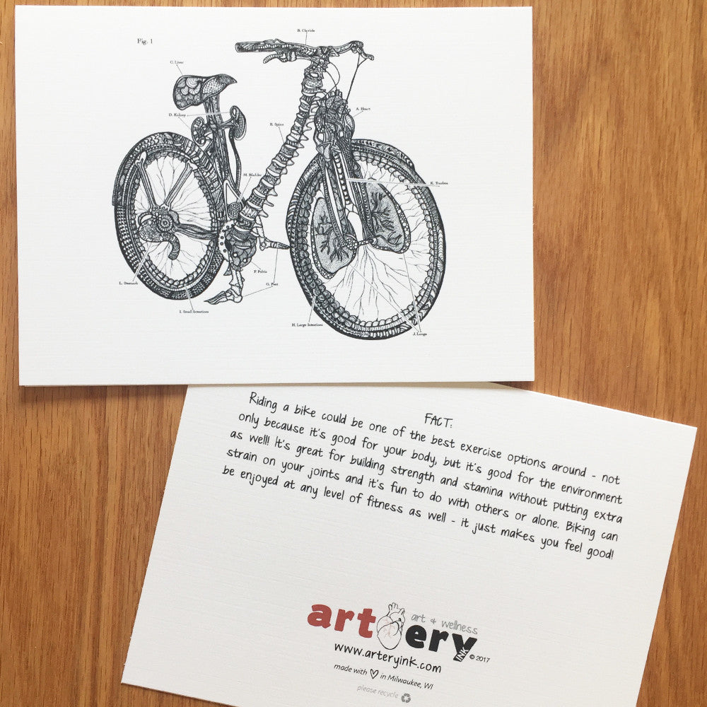 Anatomical Bicycle - Any Occasion (#8111)