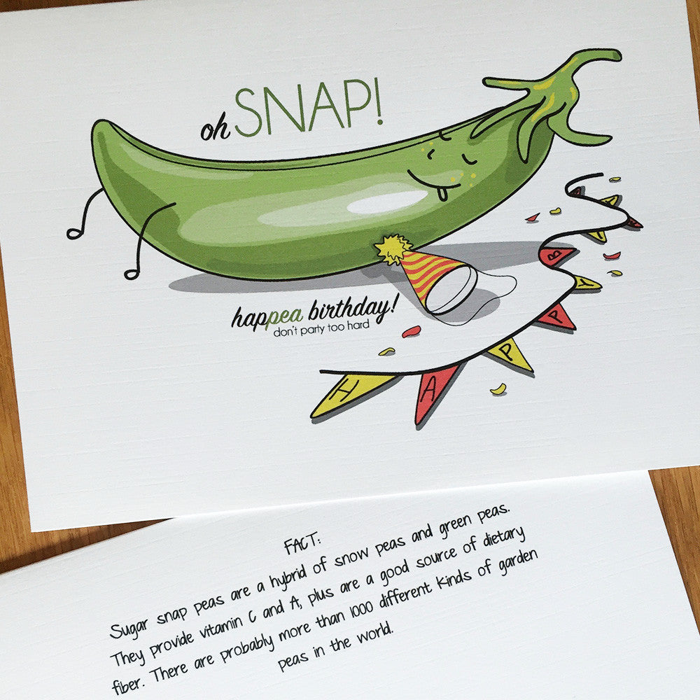 Sugar Snap Pea - Birthday (#1009)