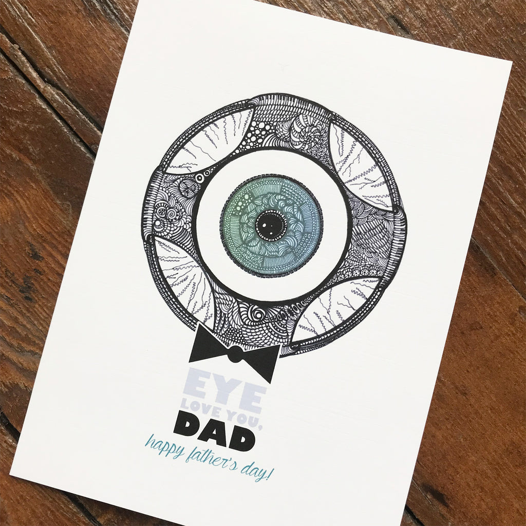 Eyeball Bowtie - FATHER'S DAY