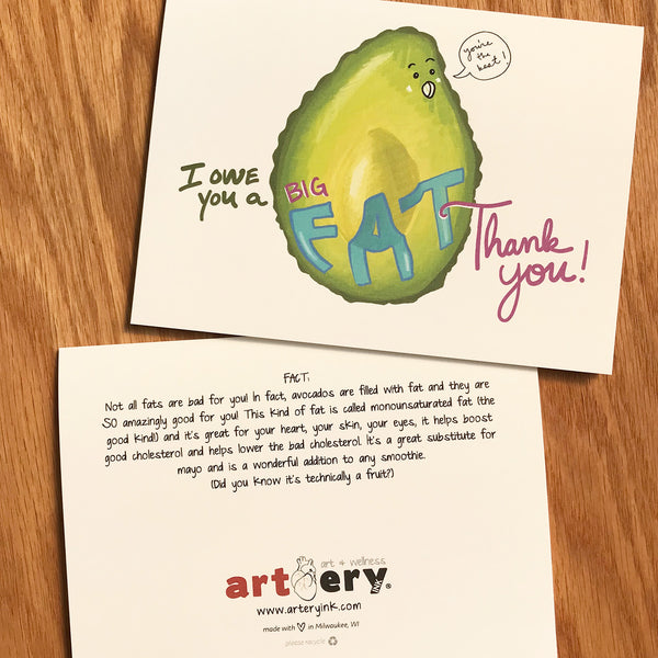 Fat Avocado - Thank You (#2010)