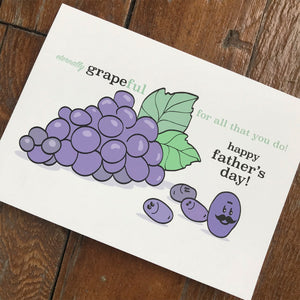 Grapeful Dad - FATHER'S DAY