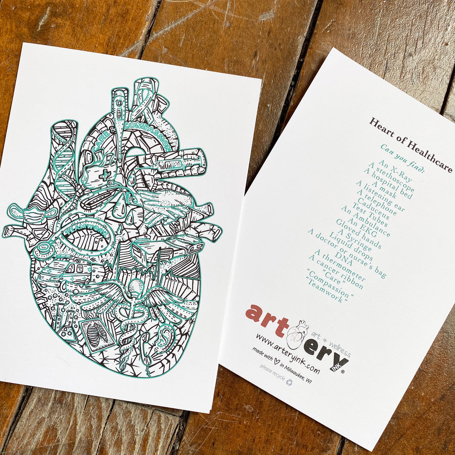 Heart of Healthcare - Any Occasion (#8134)