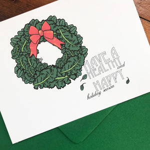 Kale Wreath - HOLIDAY