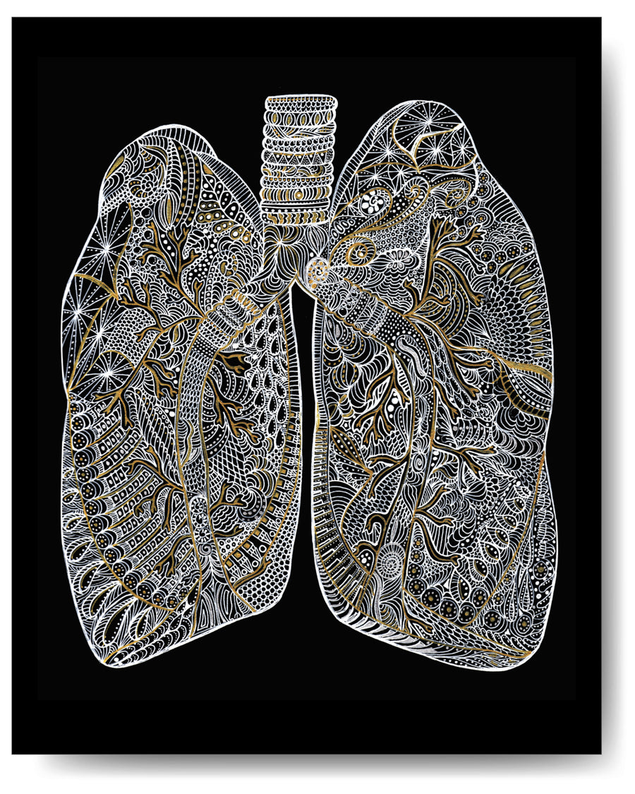 Metallic Lungs -8x10