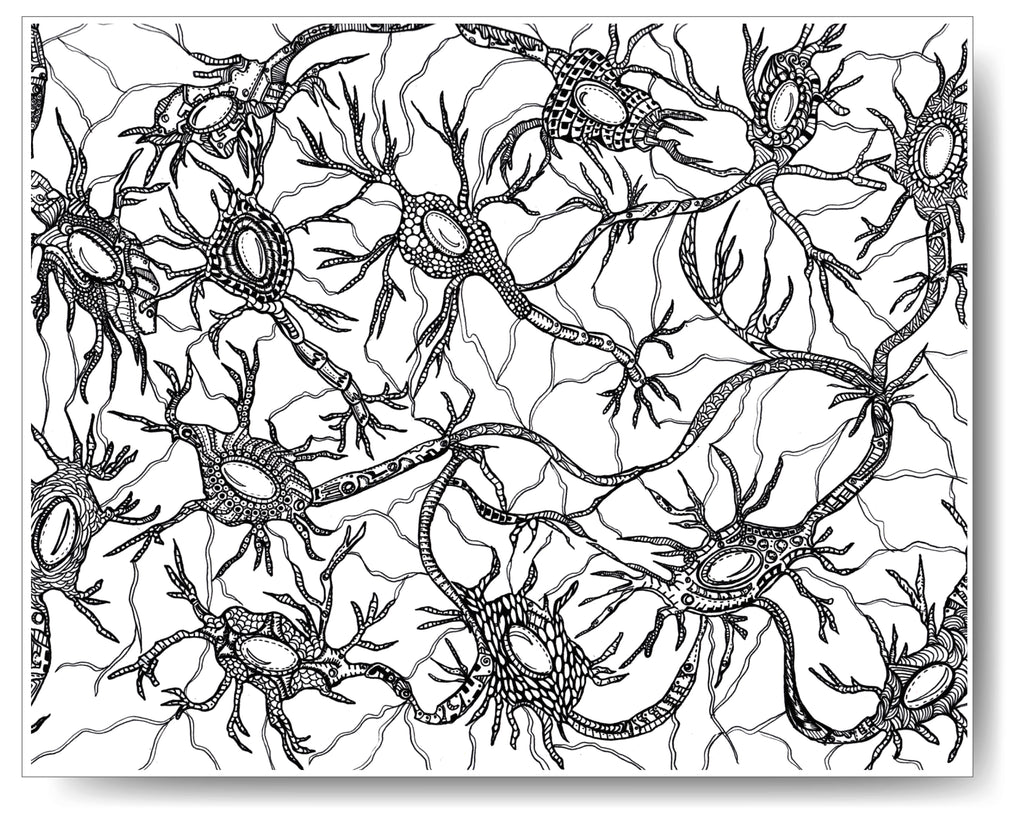 Neurons - 8x10 or 11x14