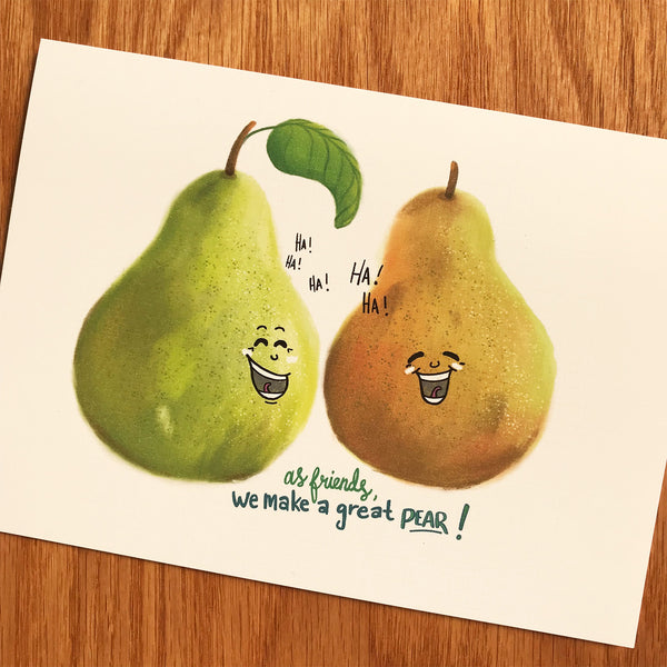 A Great Pear - Friendship (#5401)