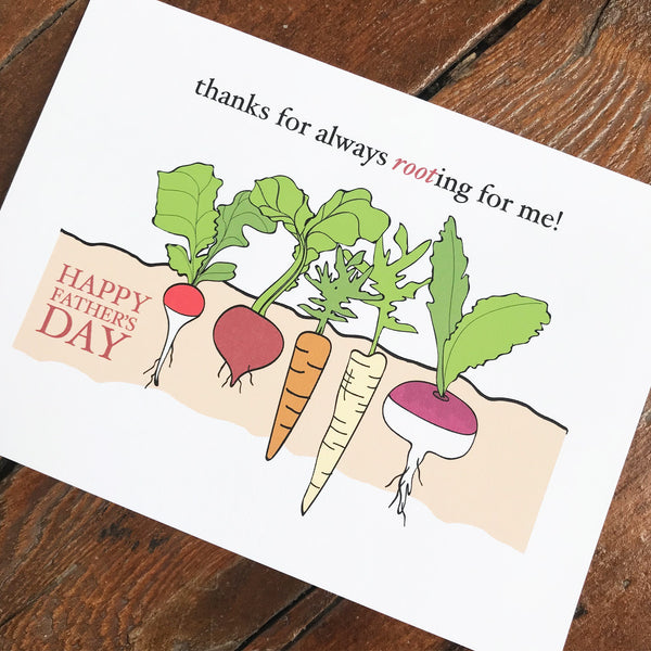 Root Veggies - FATHER'S DAY