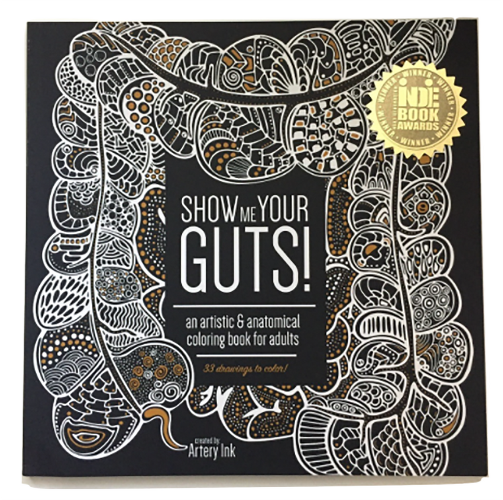 Show Me Your Guts! An Artistic & Anatomical Coloring Book for Adults ...