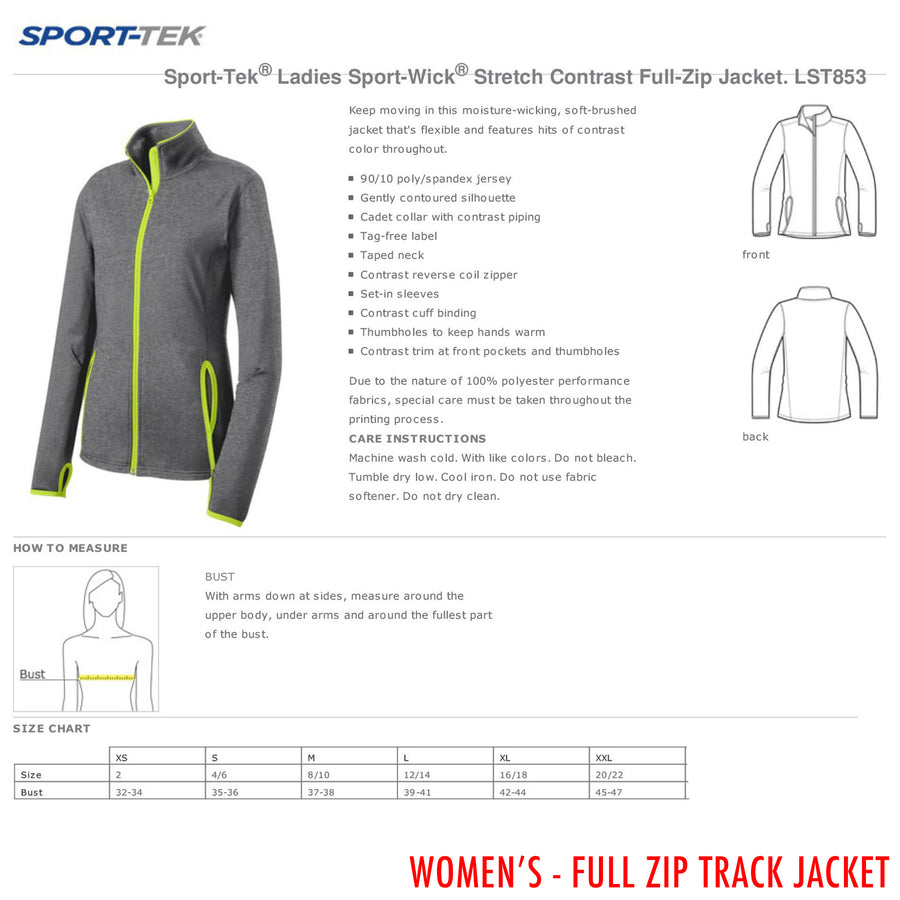 Heart & Lungs Women's Track Jackets